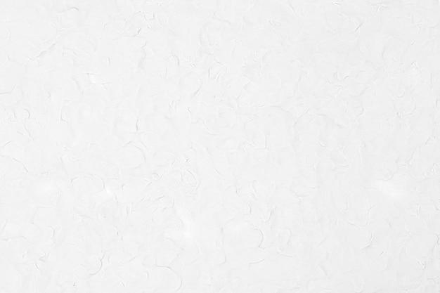 Białe gliny teksturowane tło w minimalistycznym stylu abstrakcyjnej sztuki kreatywnej diy