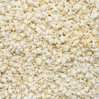 Białe gorące popcorny