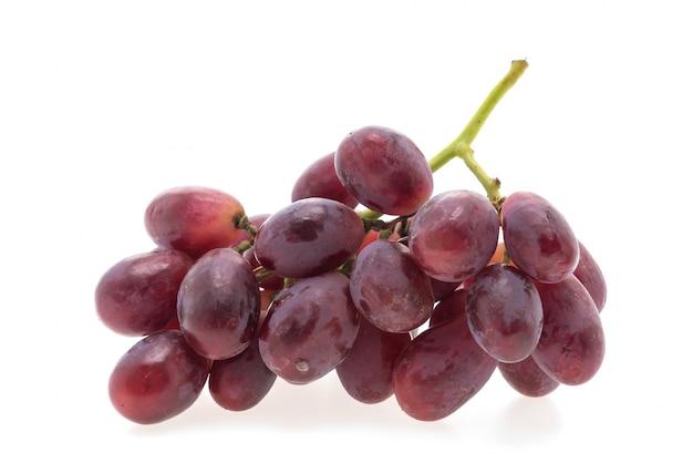Białe grono żywnościowego owoców przyrodzie