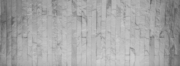 Białe kamienne ściany wzór tekstury tła.