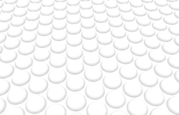 Białe kółka. abstrakcyjny wzór rund dla sieci web