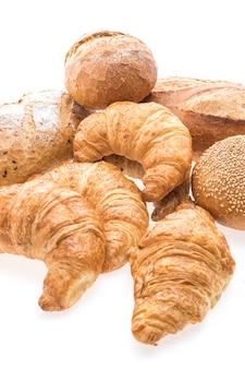 Białe pieczywo chleb żywności studio