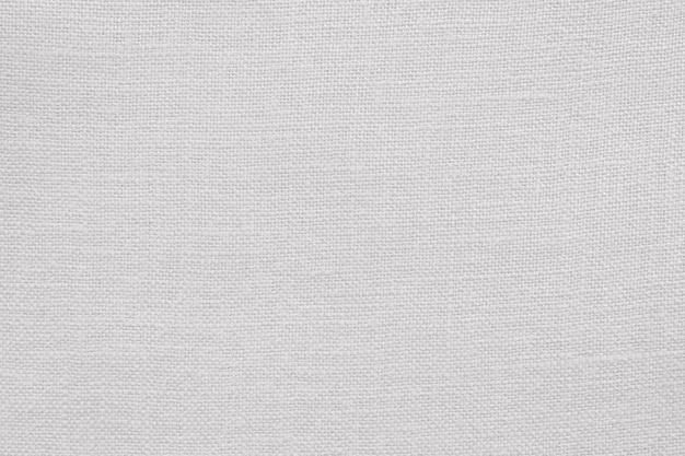 Białe płótno lniane tekstura tło