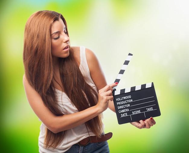 Białe przyjazne clapboard rozrywkowej żeński