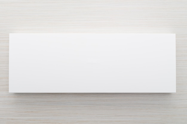 Białe pudełko do makiety