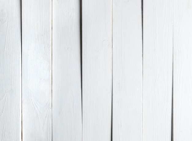 Białe tło desek