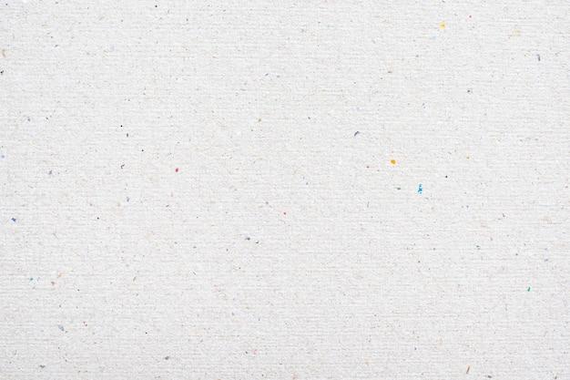 Białe tło tekstury papieru z recyklingu.