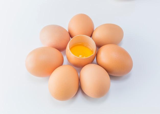 Białko jeść obiekt niegotowane jedzenie