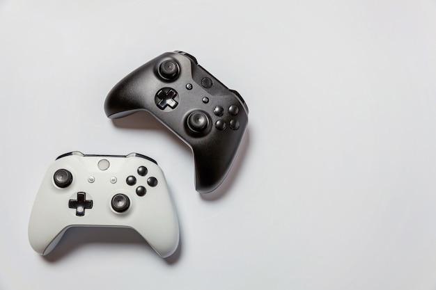 Biało-czarny joystick