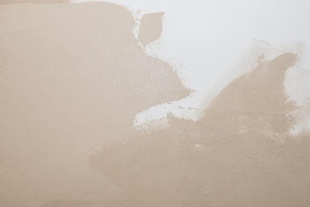 Biały beż tekstury cementu kamień beton, ściana sztukaterie otynkowana skałą