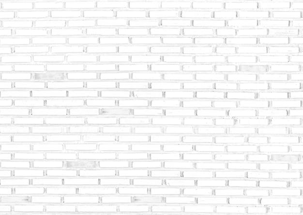 Biały cegła ściana tekstur na tle, puste miejsce.