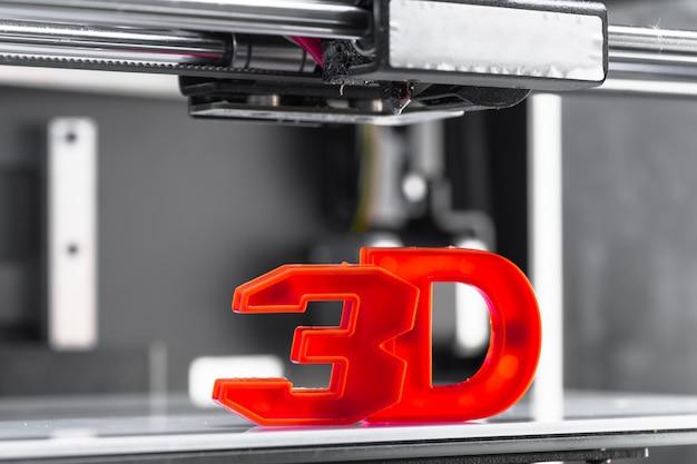 Biały element do drukowania 3d