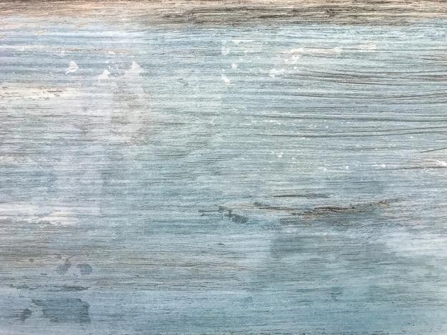 Biały i niebieski wytarty laminat vintage, drewniane tekstury tło,