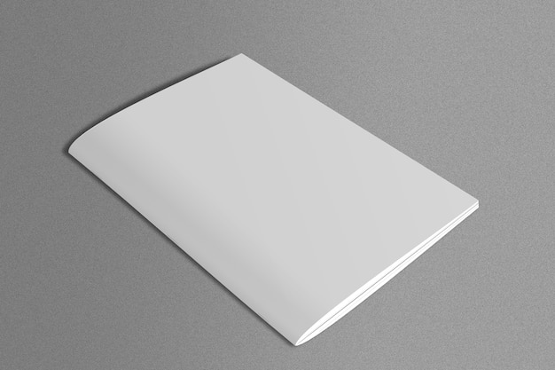 Biały magazynek o marmurowej powierzchni