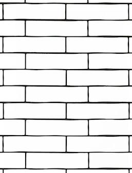 Biały mur z cegły. tło z białymi płytkami ceramicznymi.