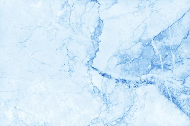 Biały niebieski marmur tekstura tło, naturalne kamienne płytki podłogowe.