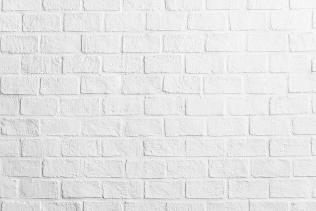 Biały ściana z cegieł tekstur tło