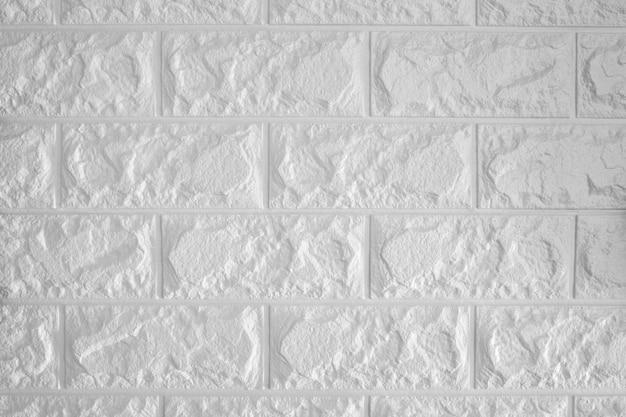 Biały ściana z cegieł tło