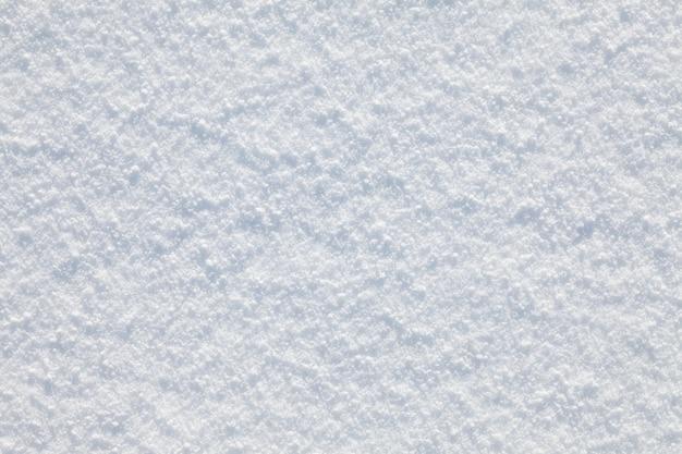 Biały śnieg gładki teksturowanej tło