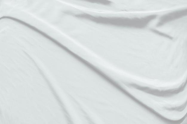 Biały sukienny tło abstrakt z miękkimi fala.