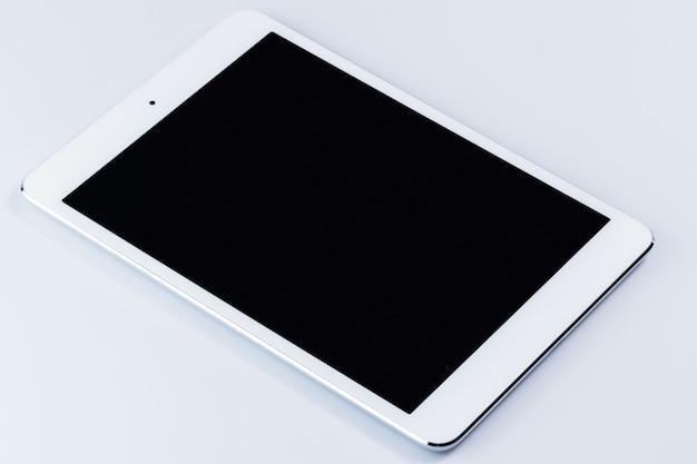 Biały tablet pc