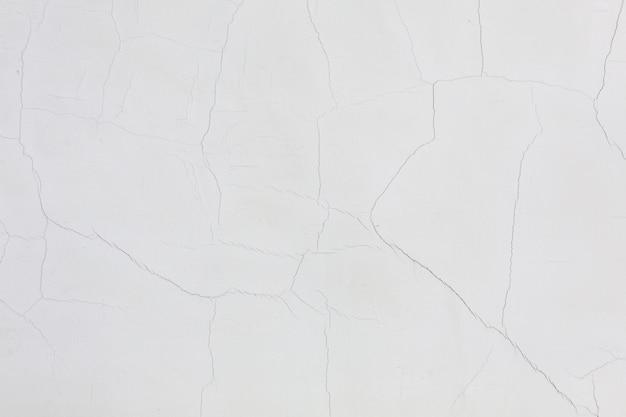 Biały upaćkany ścienny sztukateryjny tekstury tło