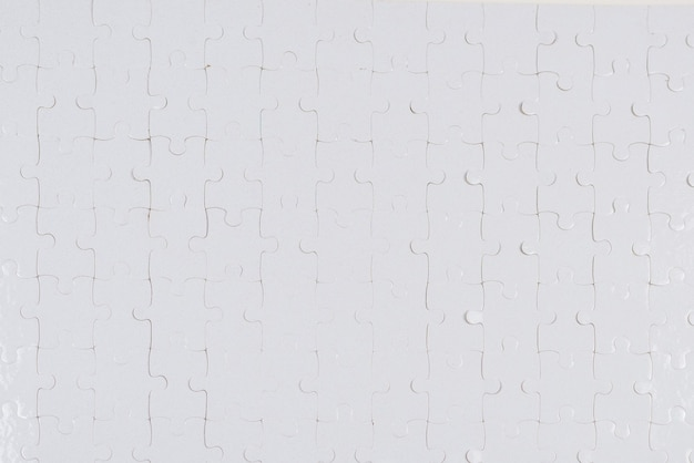 Biały wzór układanki