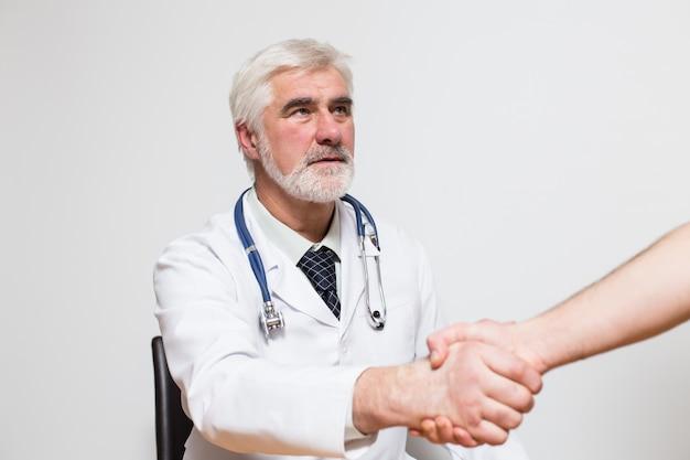 Biały zawód medycyna szafka zdrowia