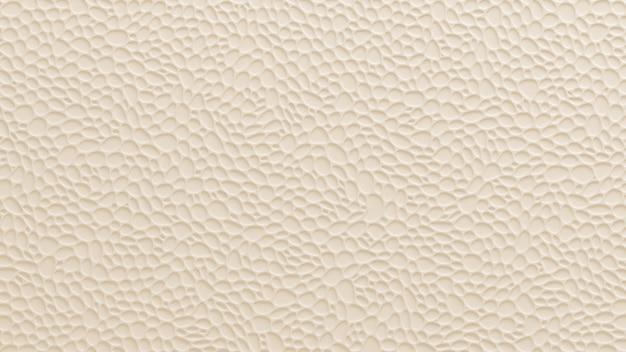 Biały, żółty tekstury tło z ulgą i okręgami. renderowania 3d.