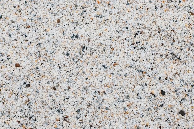 Biały żwir streszczenie tekstura tło dla projektu
