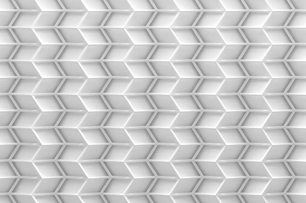 Biały zygzakowaty wzór w białych kolorach