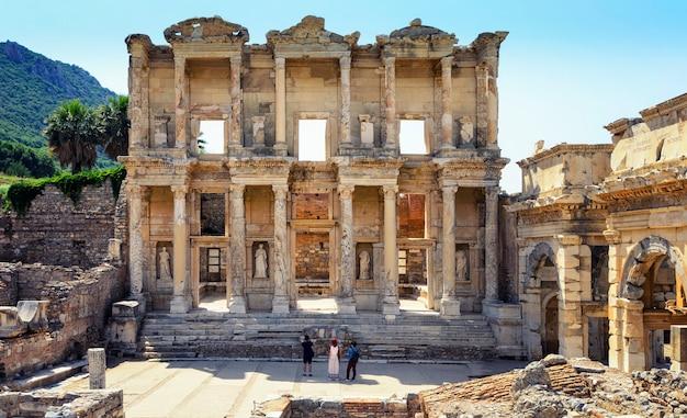 Biblioteka celsusa w efezie, turcja