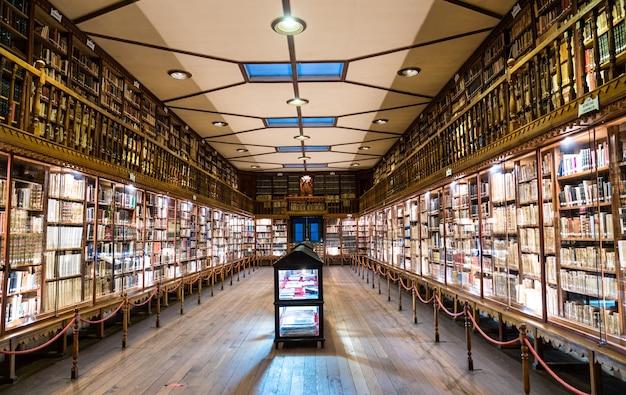 Biblioteka klasztoru santa rosa de ocopa w junin peru