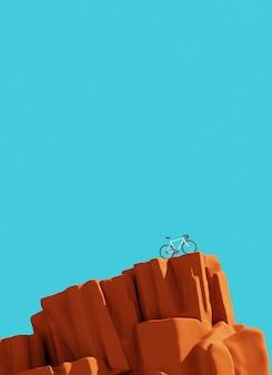 Bicykl na górze, zwycięzcy pojęcie