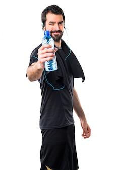 Biegać naturalnym napojem biegającym maratonem