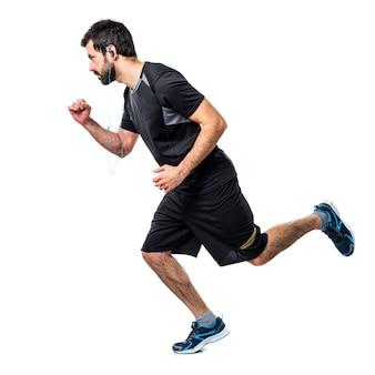 Bieganie ćwiczenia szczupłe mocno umięśnione