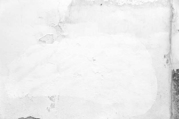 Bielone ściany betonu