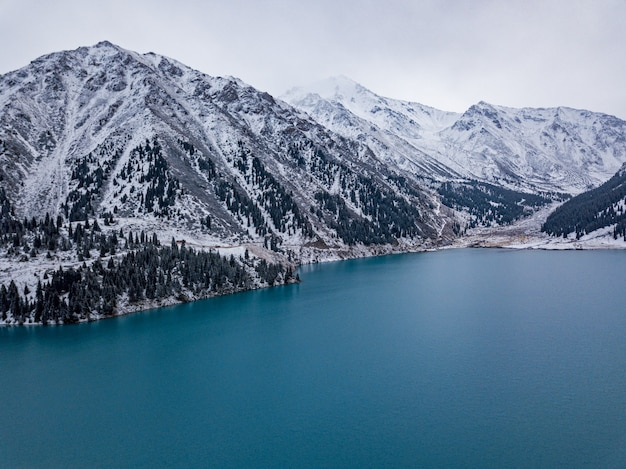 Big almaty lake, kazachstan.