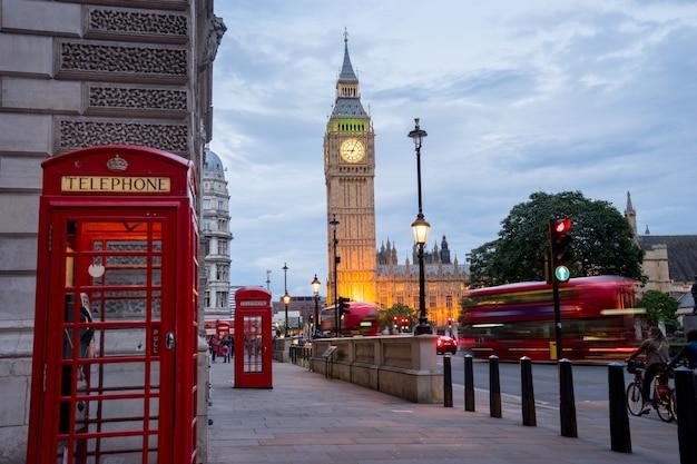 Big ben big ben i opactwo westminster w londynie w anglii