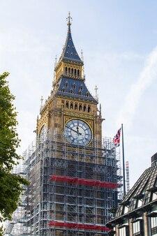 Big ben london wyremontować 4 lata po pracy 150 lat londyn, wielka brytania