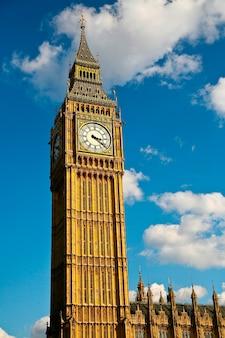 Big ben zegarowy wierza, dziejowy punkt zwrotny w londyn, anglia