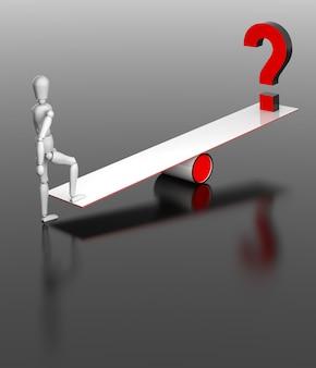 Bilansowe problemy abstrakcyjne ze znakiem zapytania