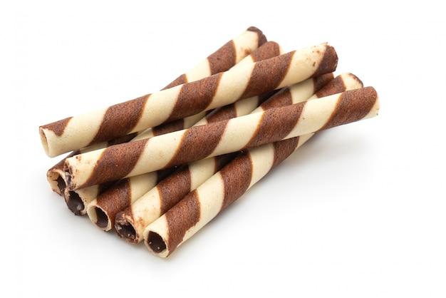 Biszkopty waflowe o smaku czekoladowo-kremowym