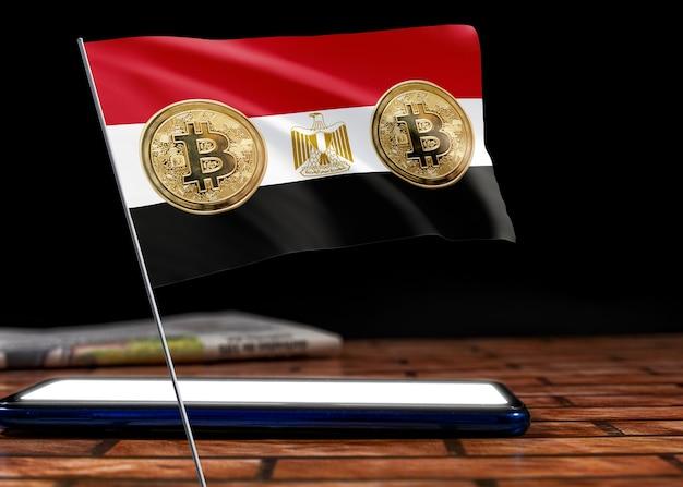 Bitcoin egipt na fladze egiptu. aktualności bitcoin i sytuacja prawna w egipcie.