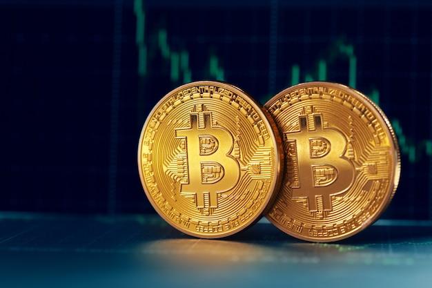 Bitcoin i wykres
