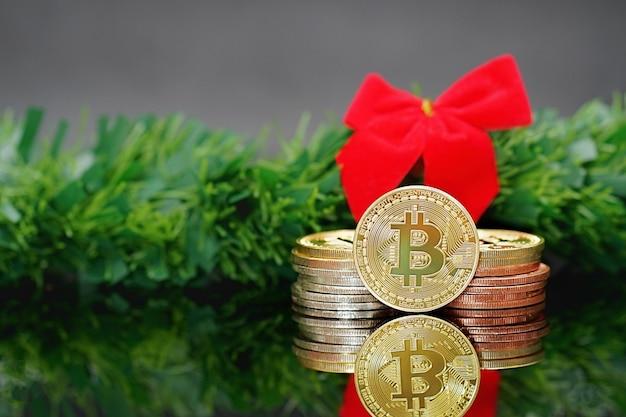 Bitcoiny bitcoiny i nowa koncepcja wirtualnych pieniędzy. bitcoin to nowa waluta.