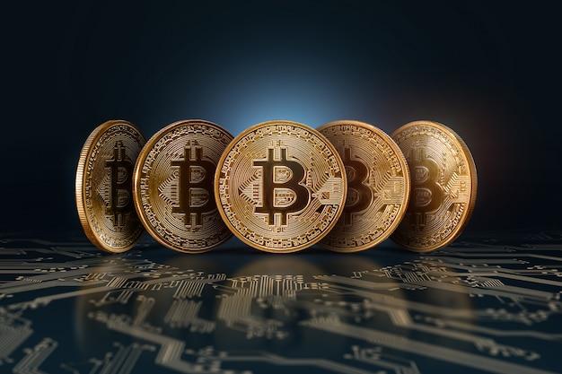 Bitcoiny pieniądz elektroniczny, kryptowaluty.
