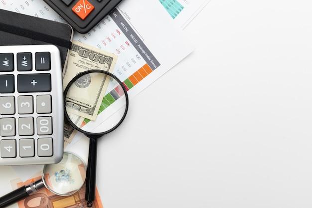 Biurko biuro biznes rachunkowość finansowa oblicz