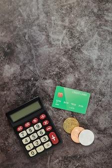 Biurko stół online biznesu finanse tło