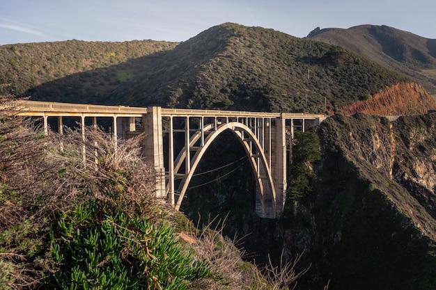 Bixby creek most przy big sur state road, kalifornia